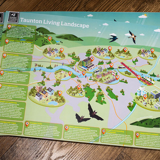 Taunton Living Landscape Map