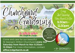Churchyard Gardening 2021 landscape