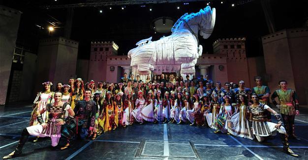 The Fire of Anatolia dance groupe