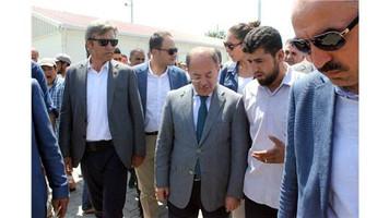 Başbakan yardımcısı Akdağ'dan 3500 konteynerlik mülteci kampına ziyaret