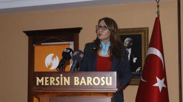 Mersin Barosundan mülteci hukuku semineri