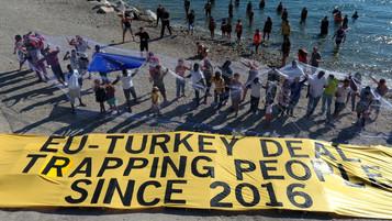 Mülteci kabul anlaşması kapsamında Yunanistan'dan Türkiye'ye iade edilenlerin sayısı açıklan