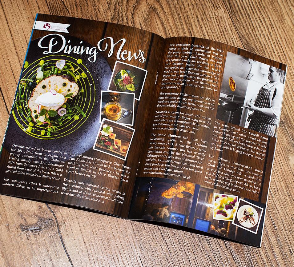 Eat Exmoor Magazine Spread
