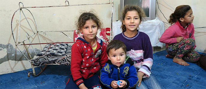Many refugee families in Turkey struggle daily to access basic services