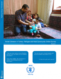 Social Cohesion in Turkey: Refugee and Host Community Online Survey (Round 1), December 2017