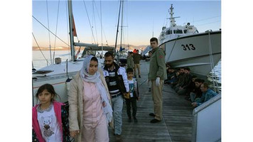 Bodrum ve Marmaris'te 113 mülteci Yunan Adalarına geçmek isterken yakalandı