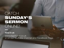 Catch Sunday's Sermon Online