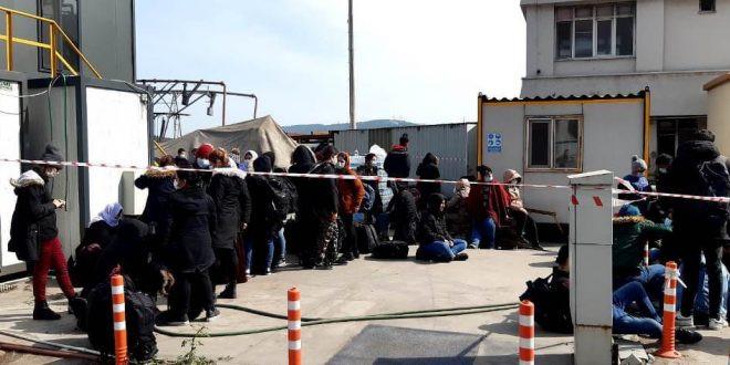 İzmir'de 55 mülteci az kalsın havasızlıktan boğuluyordu
