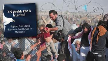 Travmatik Stres Kongresi'nde savaş, göç ve mültecilik konuları ele alınacak