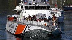 Turkish Coast Guard rescued 29 asylum seekers in Aegean Sea