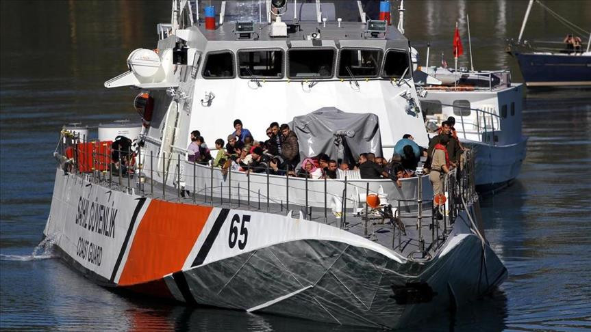 Turkish Coast Guard rescued 29 asylum seekers in Aegean Sea
