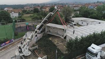 Kocaeli'nin deprem konteynerleri mülteci çocuklara okul oluyor