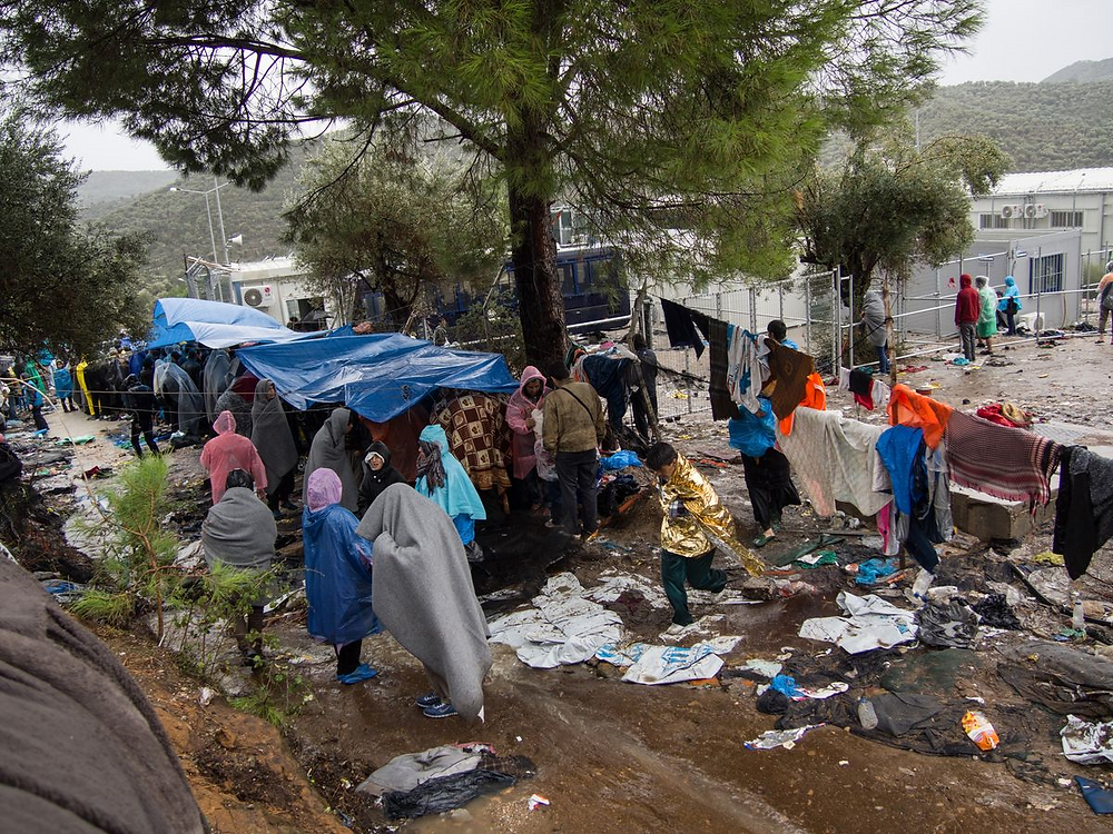 Conditions for migrants and asylum seekers on the Greek islands remain dire (Photo: Save the Children)