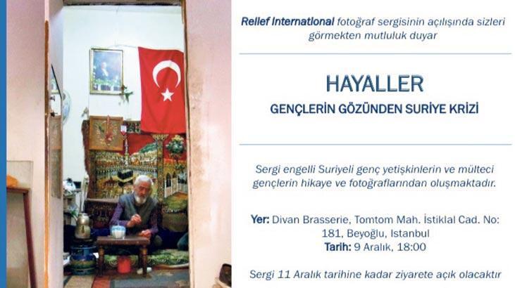 """Mülteci gençlerin """"HAYALLER""""i"""