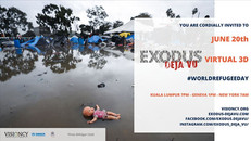 Exodus Fotoğraf Sergisi 20 Haziran Dünya Mülteci Gününde dijital ortamda erişime açılıyor