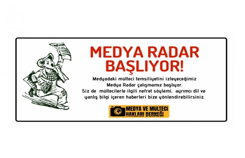 """Medyadaki mülteci temsiliyeti """"medya radar"""" ile izlenecek"""