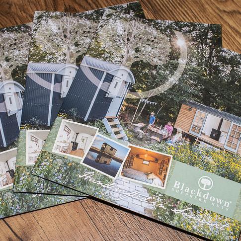 Blackdown Shepherd Huts Brochures Cover