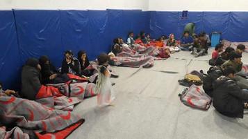 Voleybol Maçına Mülteci Engeli