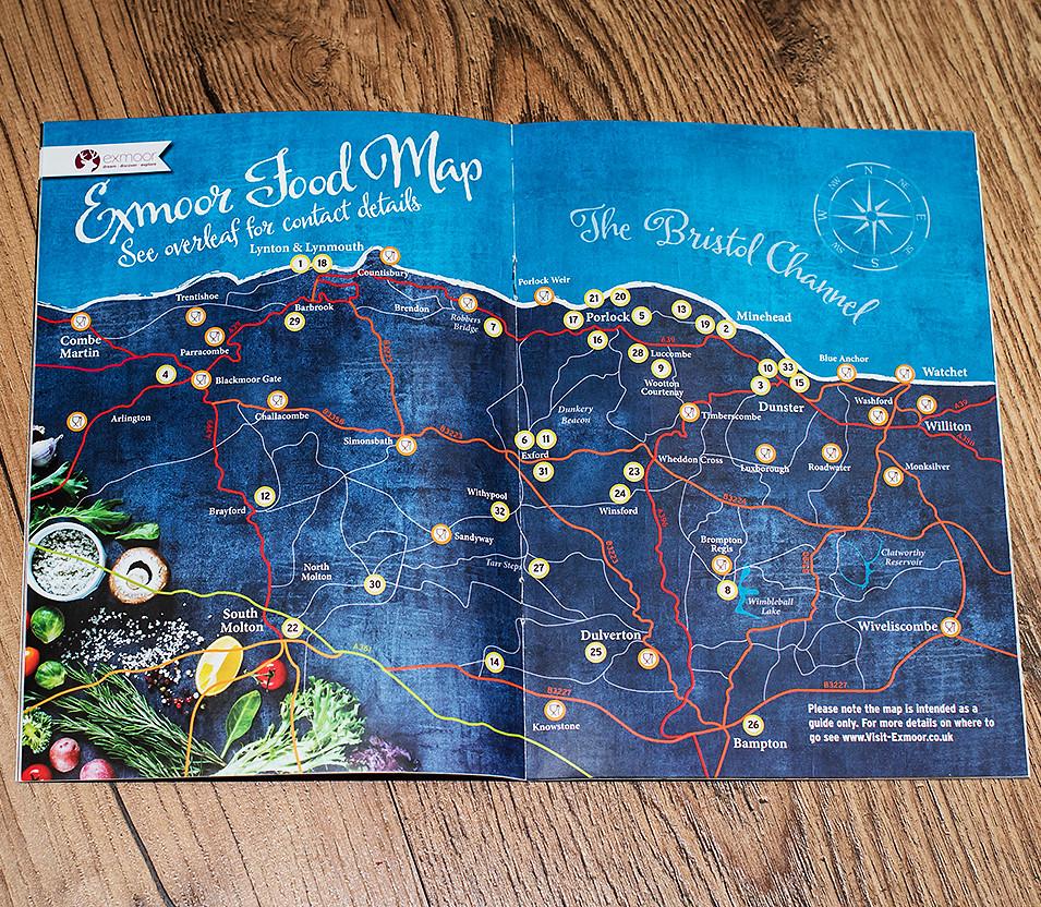 Eat Exmoor Map