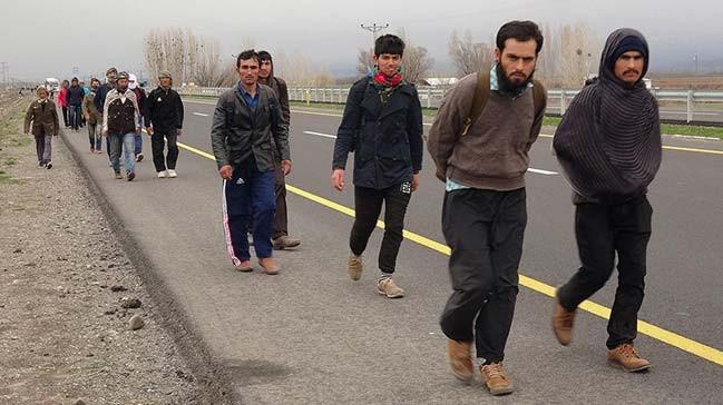 Afganistan'dan Türkiye'ye mülteci akını