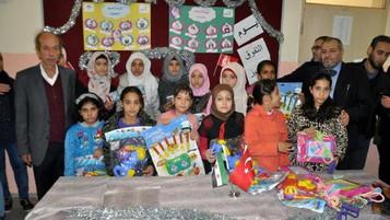 Hatay Reyhanlı'da  Suriyeli öğrencilere ödül