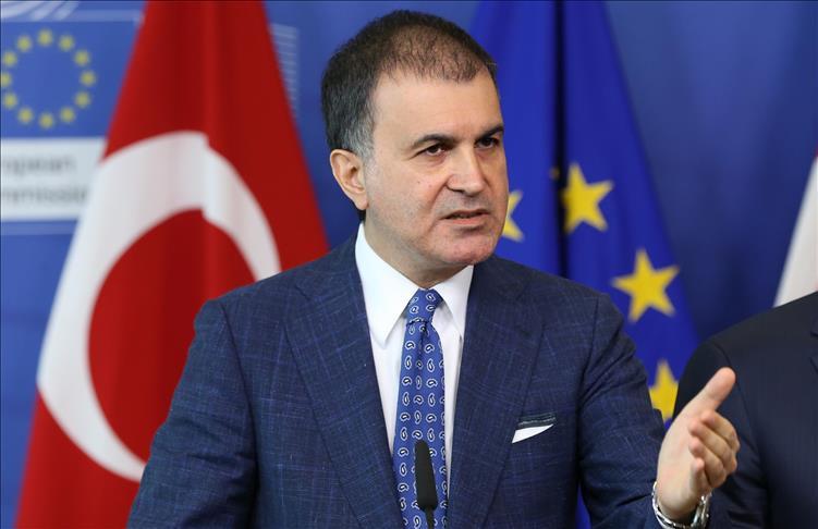 Turkey's Minister for EU Affairs Omer Celik