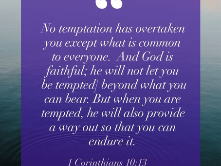 Thought For Today: Temptation