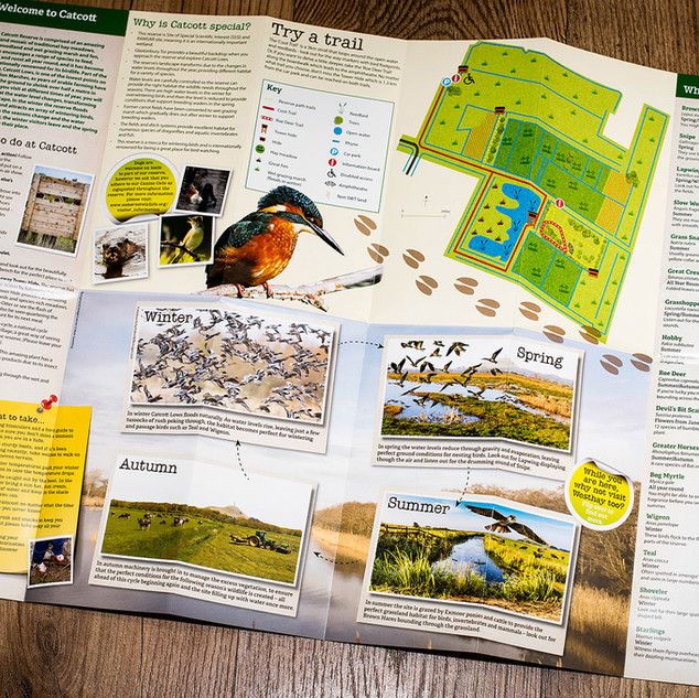 Inside Spread of Wildlife Reserve Maps