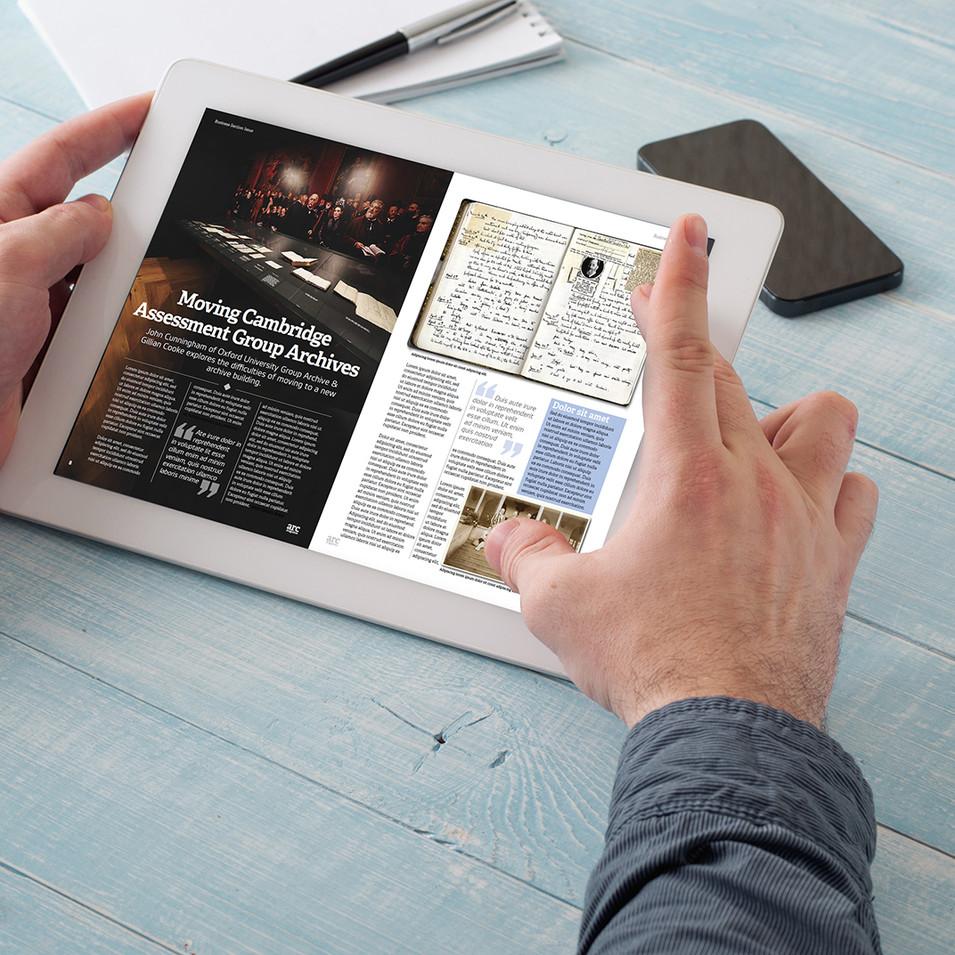 ARC Magazine Digital Spread