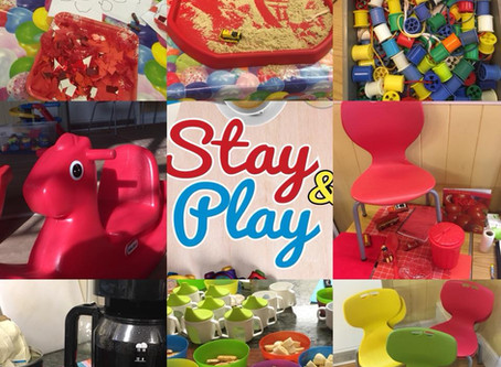 Stay & Play - our new Playgroup!