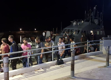 Group of 143 refugees arrive in Cyprus from Turkey