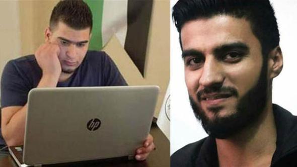 IŞİD tarafından katledilen Ayn Vatan Gazetesi Yazıişleri Müdürü İbrahim Abdulkadir ile muhabir Faris Hammadi