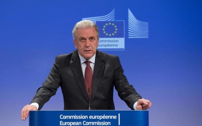 AB Göç, İçişleri ve Vatandaşlık Komiseri Dimitris Avramopoulos