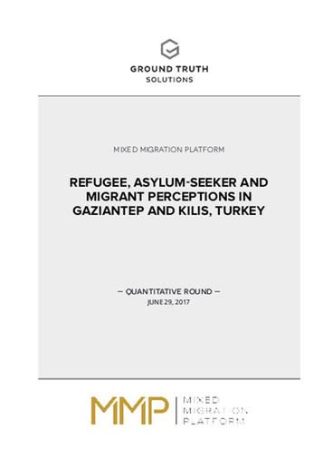 Refugee, Asylum-Seeker and Migrant Perceptions, Gaziantep, Istanbul/Turkey – Survey Report –