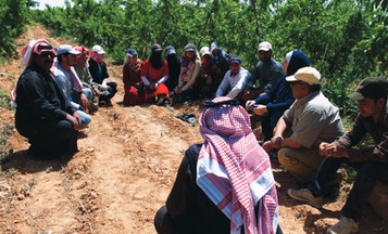 Syrian refugees, host communities acquire work skills in agriculture