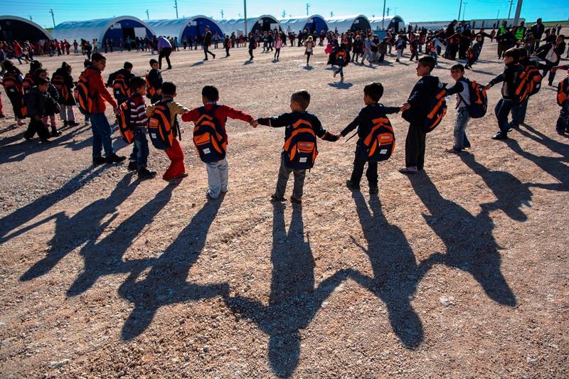 Syrian Refugees in Turkey-Adiyaman Camp