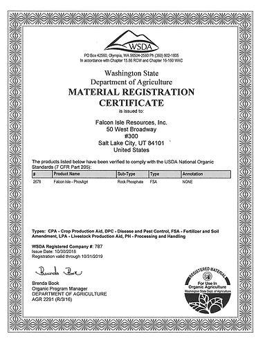 Falcon Isle - WSDA Certificate 2019 jpeg