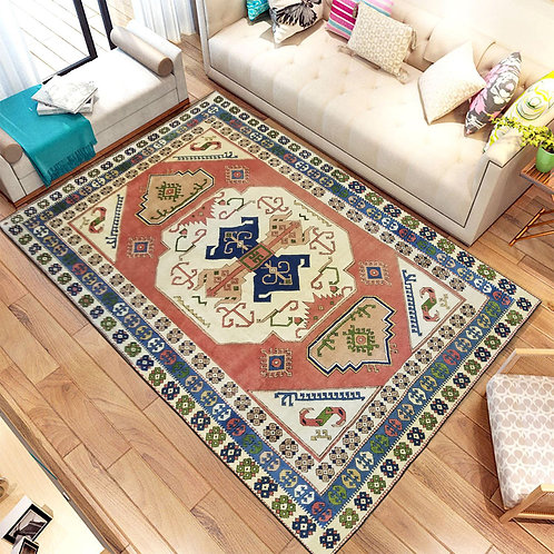 Persian hand made wool rug