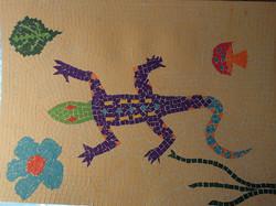 Early experiments with mosaics: 4