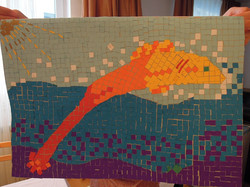 Early experiments with mosaics: 5