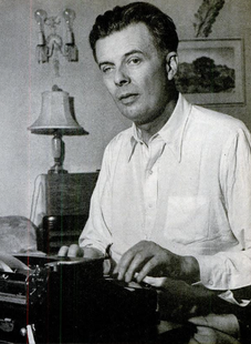 Aldous Huxley. By Anonymous [Public domain], via Wikimedia Commons