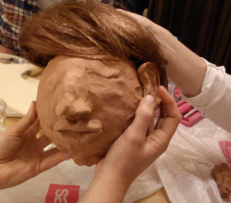 Making puppets: 6