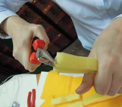 Making puppets: 5