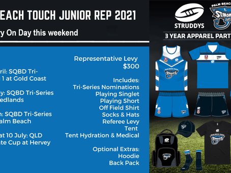 2nd Squad Trials & Uniform try on 20th - 21st  February