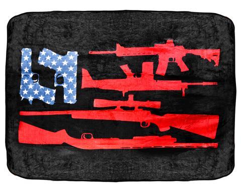 BRCC Freedom Flag Blanket