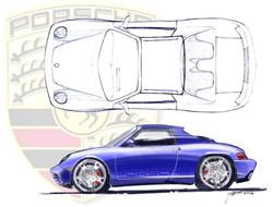 Porsche 914 concept