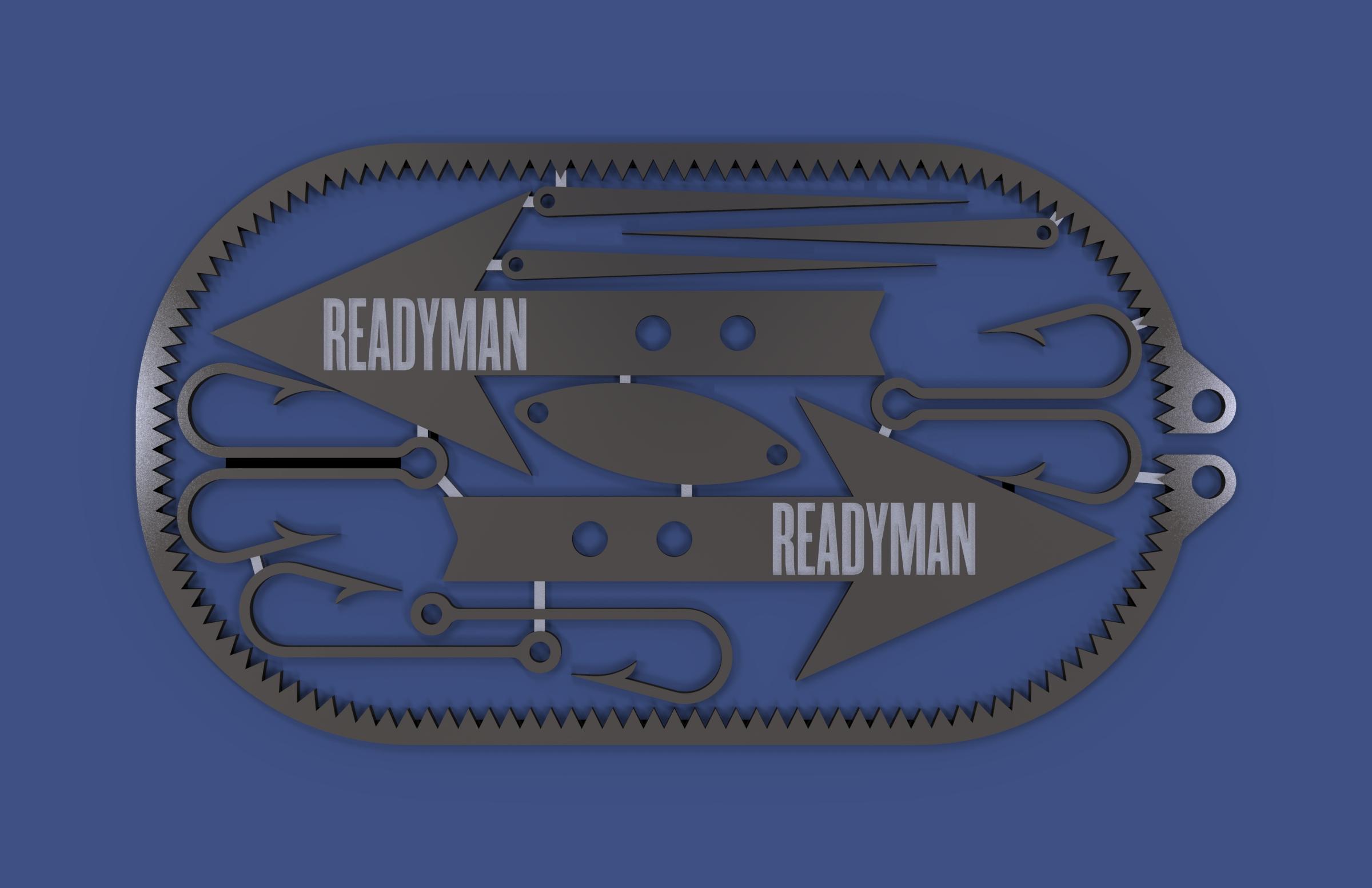 Readyman Dog tag Tool
