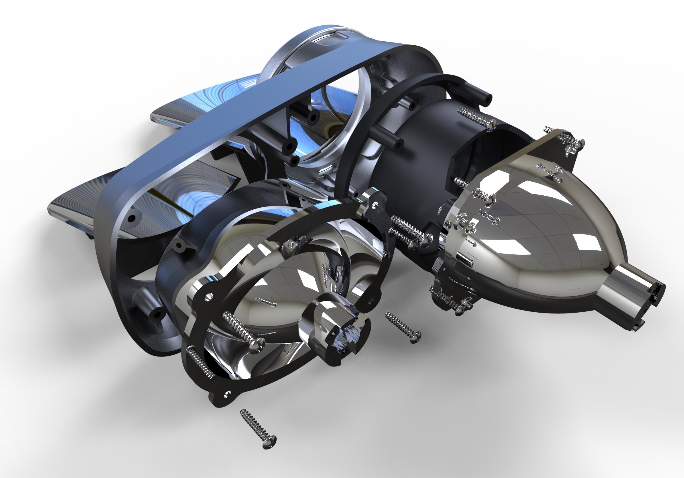 944 Headlamp components