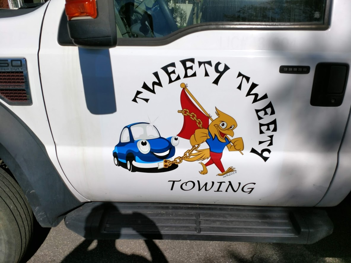 Tweety Tweety logo design