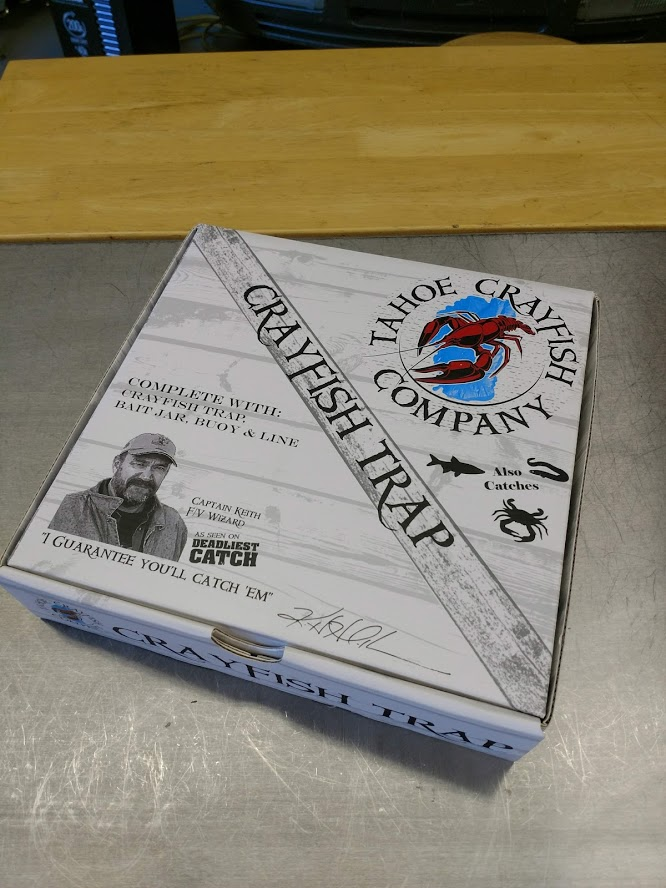 Tahoe Crayfish Company Package
